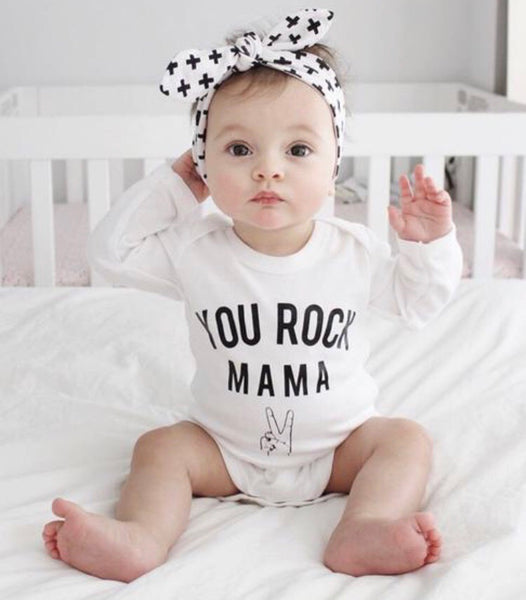 YOU ROCK MAMA BODYSUIT