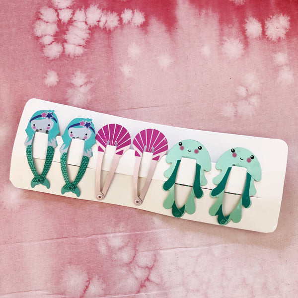 OCEAN DREAMS HAIR CLIPS