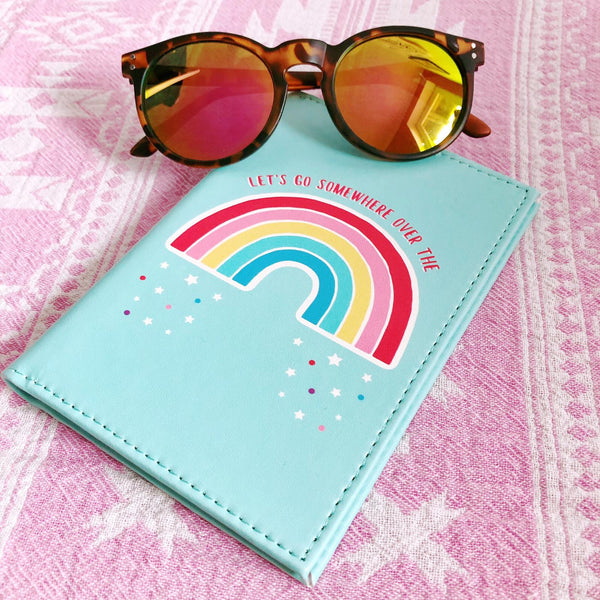 CHASING RAINBOWS PASSPORT HOLDER