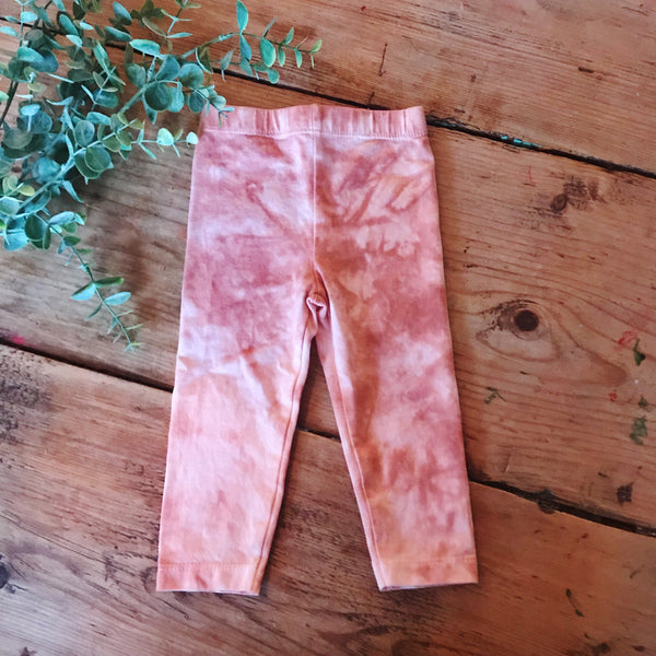 RUST DYE LEGGINGS