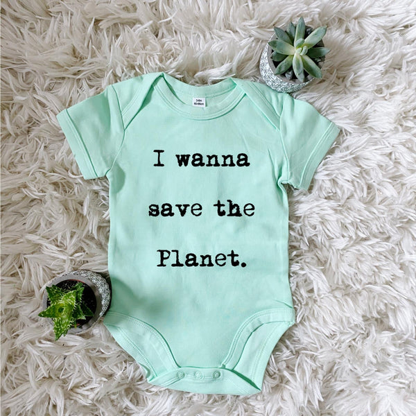 SAVE THE PLANET BODYSUIT