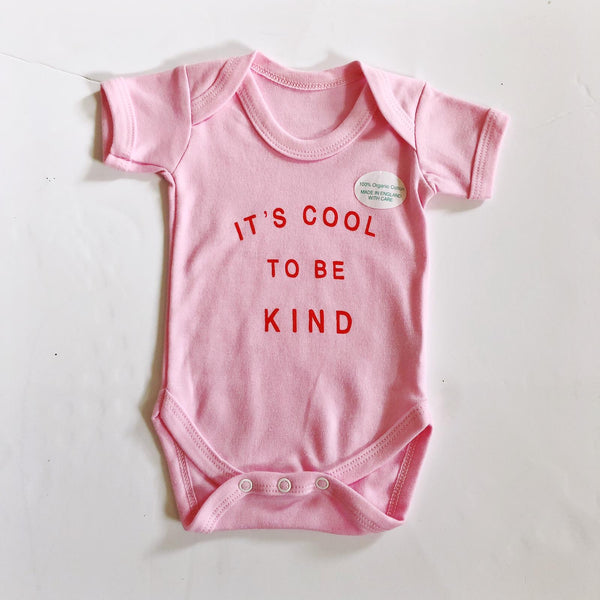 COOL TO BE KIND BODYSUIT - SAMPLE - 0-3 / 3-6 MONTHS