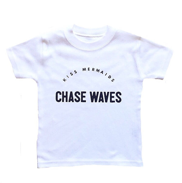 KISS MERMAIDS CHASE WAVES TEE