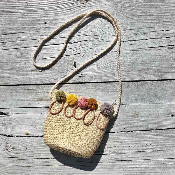 SUMMER LOVING STRAW BAG