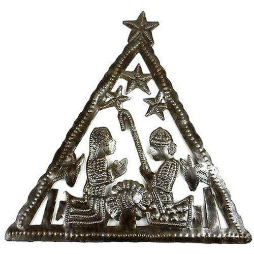 Triangle Nativity Wall Art Handmade and Fair Trade