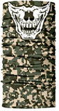 Camo Skull Rave Bandana Multifunctional Seamless Mask