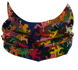 Lizard Puzzle Rave Bandana Multifunctional Seamless Mask