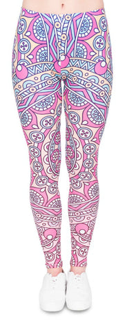 Mandala Printed Leggings