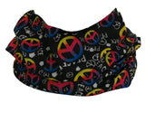 Peace Sign Rave Bandana Multifunctional Seamless Mask