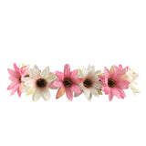 Light Up Pretty Pink Flower Crown