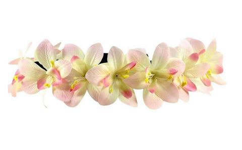 Light Up Yellow and Pink Flower Crown