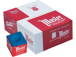 Master Cue Chalk (144 count Box)