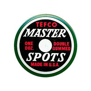 Tefco Master Spots-Set of 12