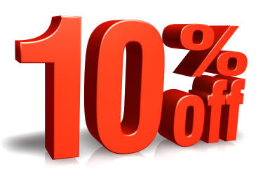 10% Off when you purchase any 2 or more items