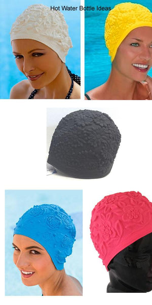 fashy latex swimming cap