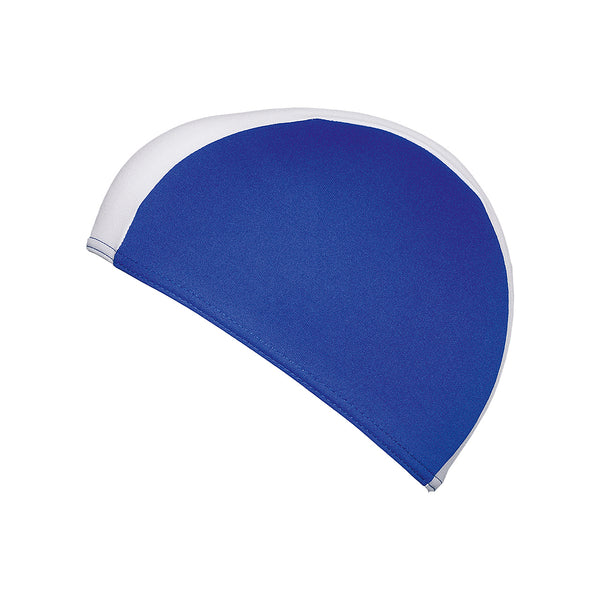 boys fabric swimming cap blue