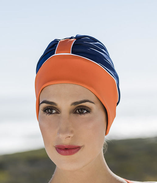 fashy swimming cap and adjustable strap