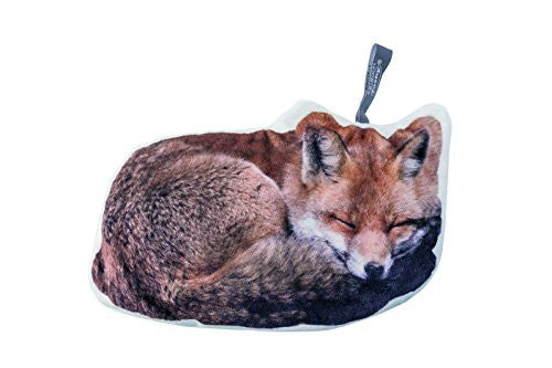 Fashy microwave heat pack with a printed fox design cover