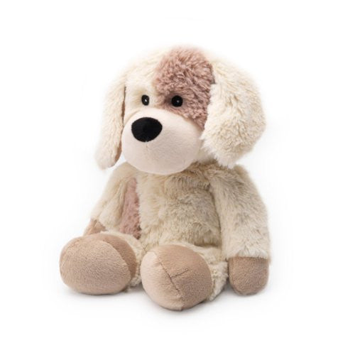 microwave plush puppy soft toy