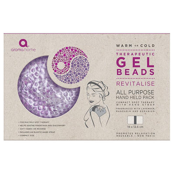 Therapeutic Gel Beads Hot Cold All Purpose Spot Therapy Pad Lavender