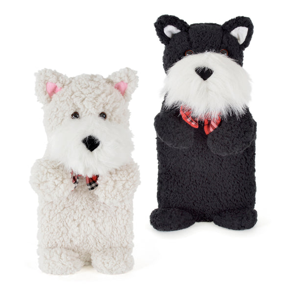 kids hot water bottle and scotty dog cover