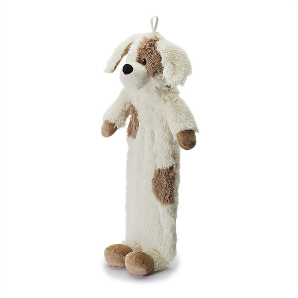 puppy plush long hot water bottle