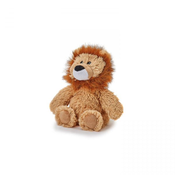 microwave plush lion heatable toy