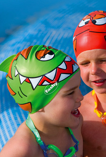 children's silicone swimming cap for kids