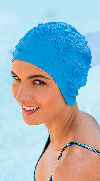 Fashy Ladies Latex Swimming Cap