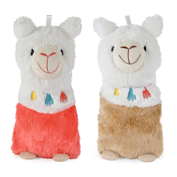 llama hot water bottle