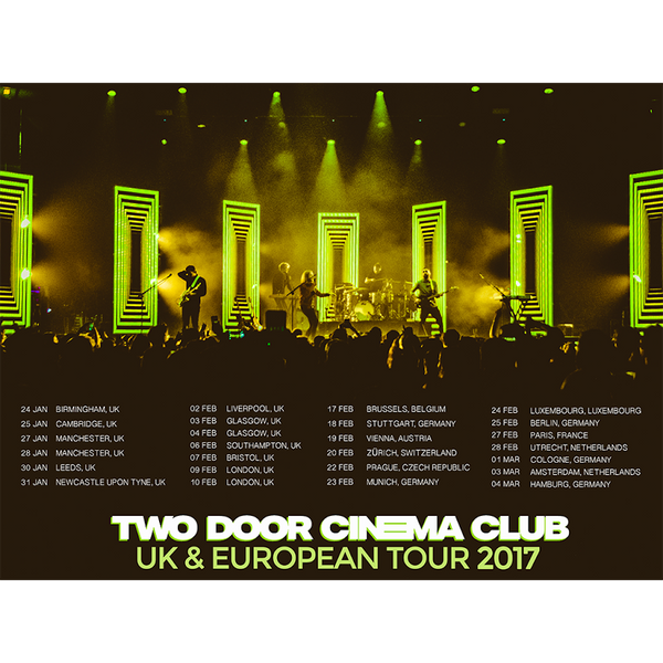 2017 UK & European Tour Poster