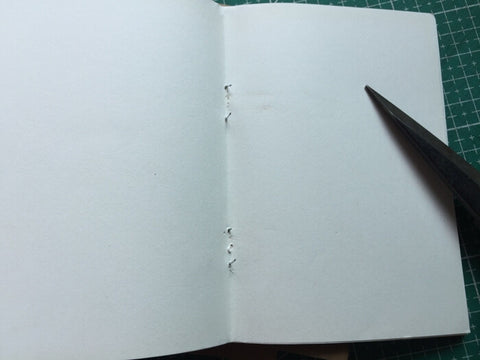 tutorial - make a leather journal 8