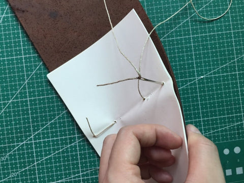 tutorial - make a leather journal 19