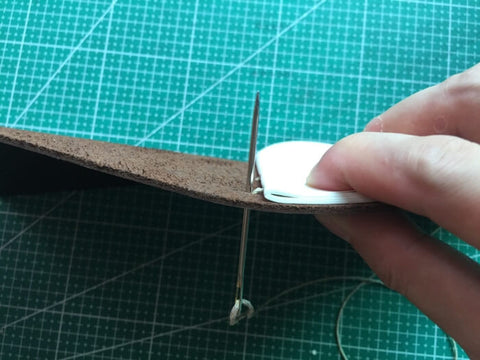 tutorial - make a leather journal 20