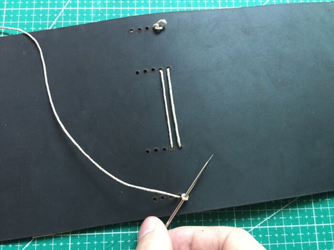 tutorial - make a leather journal 28