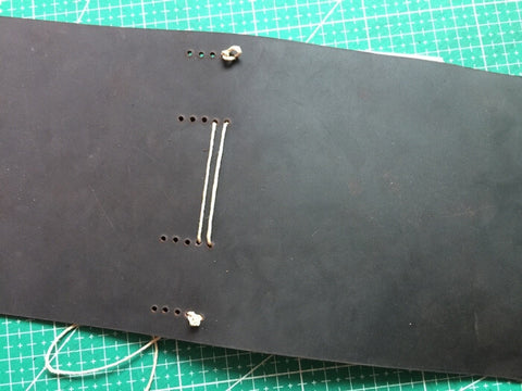 tutorial - make a leather journal 30