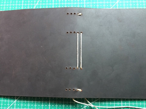 tutorial - make a leather journal 31