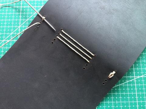 tutorial - make a leather journal 38