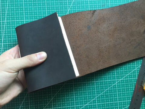tutorial - make a leather journal 46