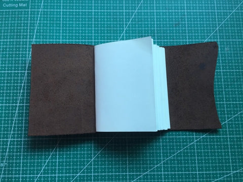 tutorial - make a leather journal 47