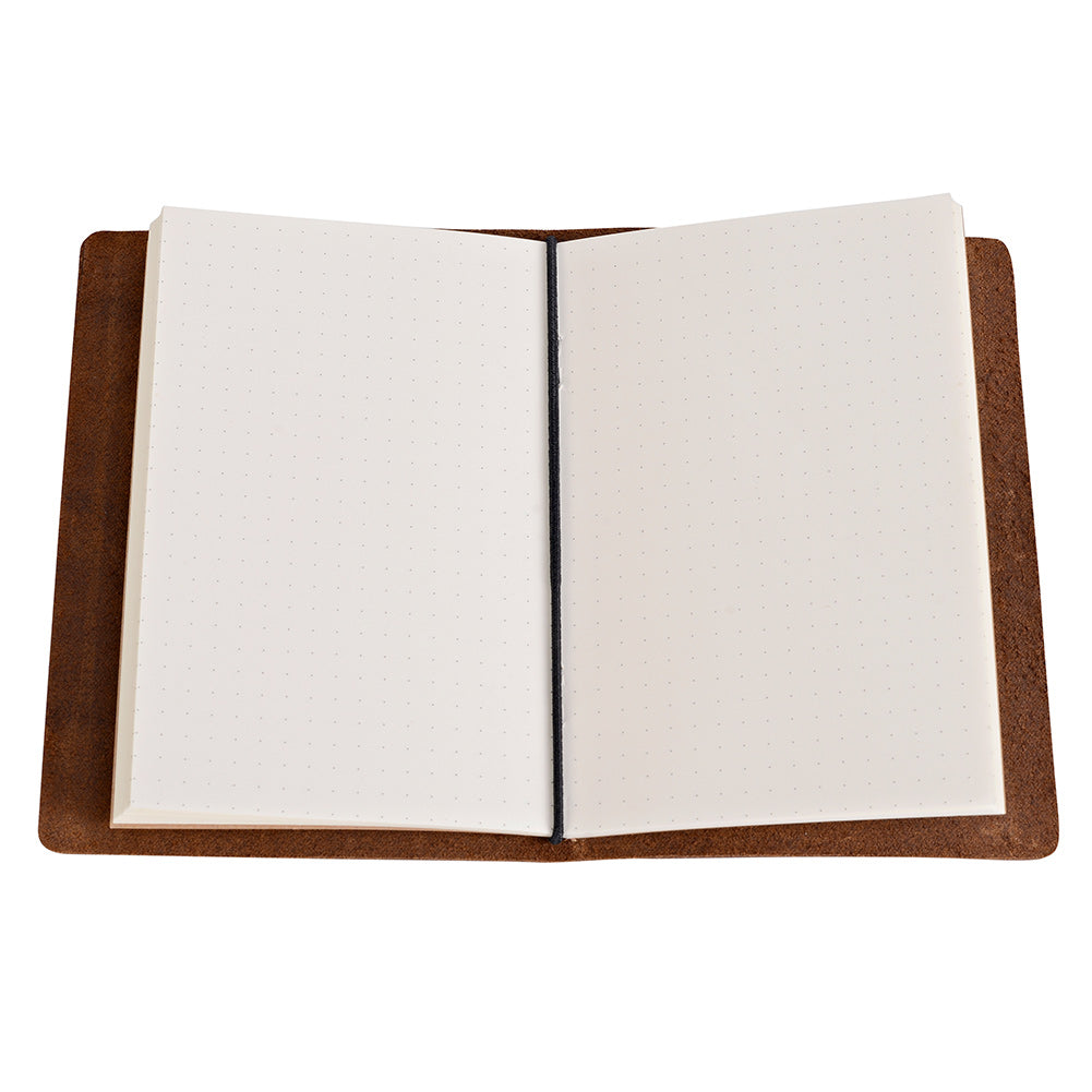 Refill, Monthly 006, Passport Size 3.5x5.5 Inch Journal Travelers Notebook Refillable Travel Journal Writing Diary for Passport Size 3.5x5.5 Inch Pocket Size 3.75x6.5 Inch Standard Size 4.25 x 8.25 in