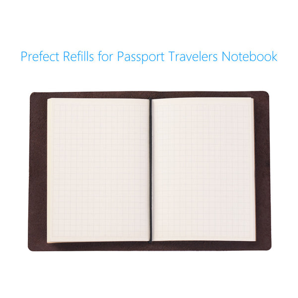 Grid Traveler's Notebook Inserts - Passport Size