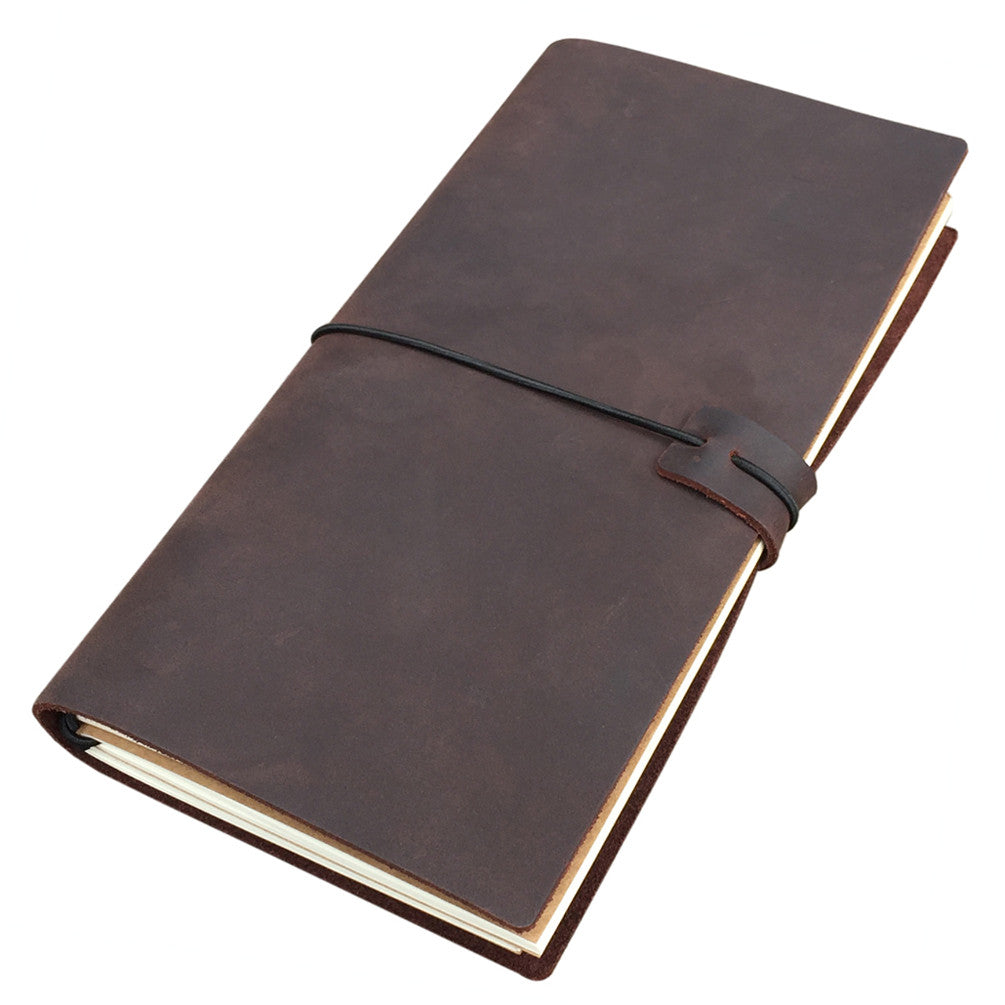 Traveler S Notebook Coffee Brown September Leather