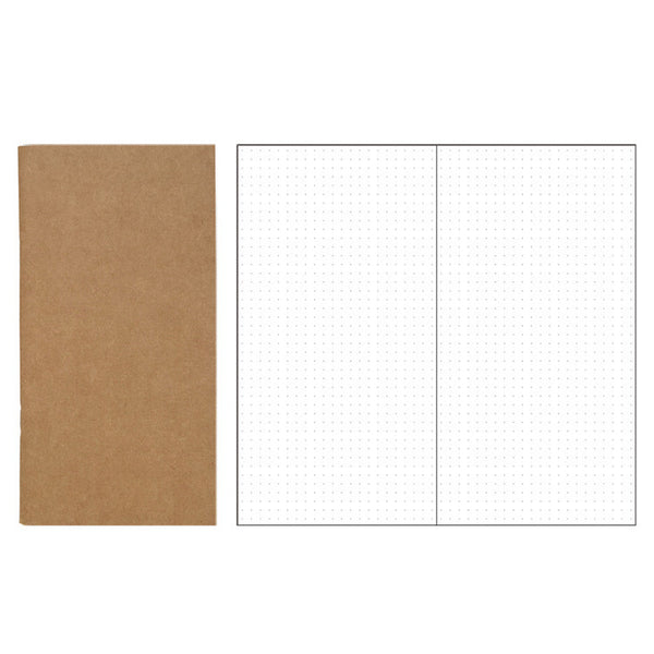 dot grid travelers notebook