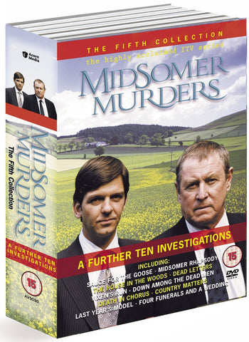Midsomer Murders : The Fifth Collection - A Further 10 Investigations [10 DVD Boxed Set]