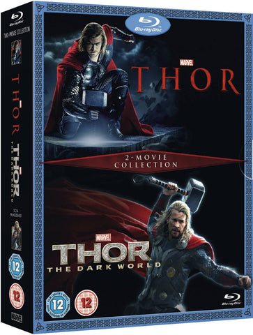 Thor/Thor: The Dark World Double Pack [Blu-ray] [Region Free]