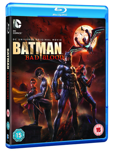 Batman: Bad Blood [Blu-ray] [2016] [Region Free]