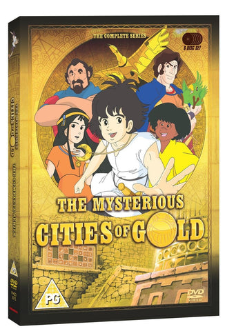 The Mysterious Cities Of Gold: The Complete Series BBC [DVD] [1982]