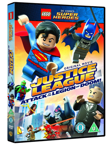 Lego: Justice League - Attack of the Legion of Doom [DVD]