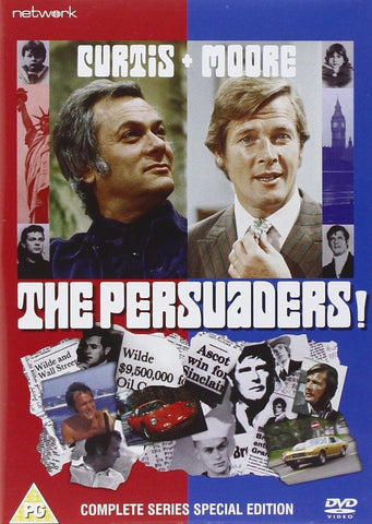 The Persuaders! The Complete Series [ITV] [DVD]